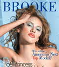 I do wear a lot of their dresses :  Eliminee Brooke, Top Model